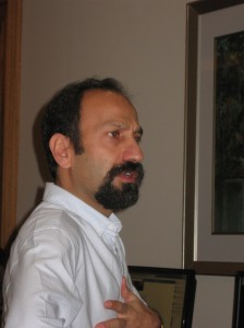 Asghar Farhadi - film director, of Iran