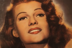Portrait of Rita Hayworth from The Kobal Collection.
