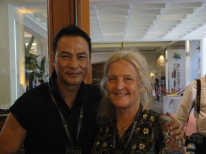 Simon Yam and CYN