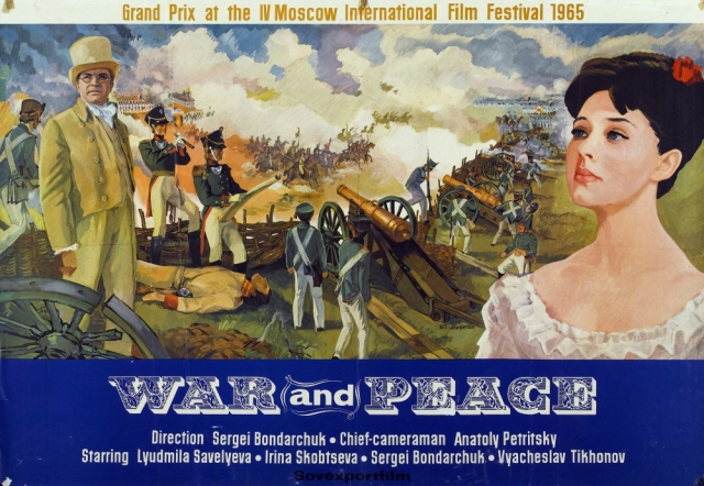POSTER War and Peace widescreen
