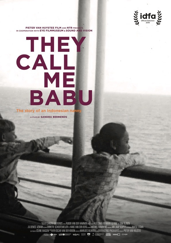 POSTER They call me Babu 2019 Nederlands